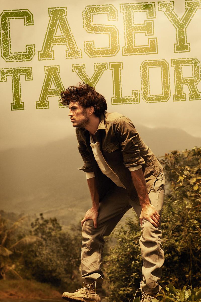 Casey Taylor In Dolce Gabbana: Casey Taylor By Joel Rhodin